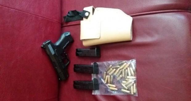 Συνελήφθη 34χρονος στη Συκούλα Αιτωλοακαρνανίας, για παράνομη οπλοκατοχή. Εντοπίστηκαν μέσα σε κρύπτη στο όχημα που οδηγούσε