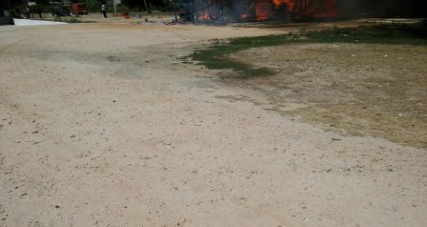 Φωτιά  στην Βόνιτσα …..