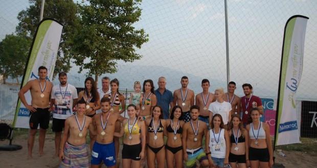 Η Ναύπακτος στο επίκεντρο των φίλων του Beach Volley
