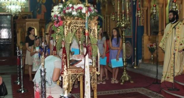 Κατούνα- Με λαμπρότητα και επισημότητα η Εορτή της Κοιμήσεως της Παναγίας