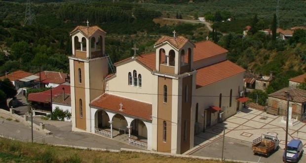 Πανηγυρίζει ο ιερός  ναός Κοιμήσεως της Θεοτόκου στη Σπολάιτα Αγρινίου