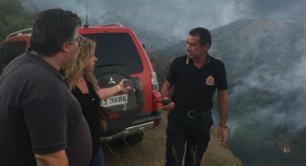 Μεγάλη καταστροφή στον Άη – Γιώργη Mεσολογγίου από την πυρκαγιά