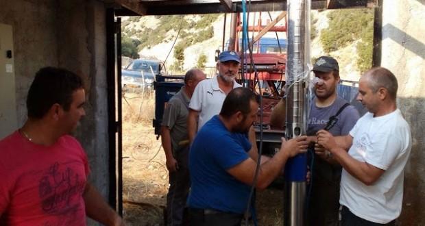 Η Κομποτή ξαναπίνει νερό αποκαταστάθηκε η μεγάλη βλάβη από το Δήμο