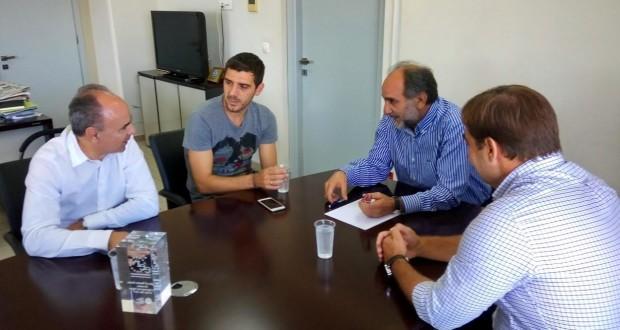 Η Περιφέρεια Δυτικής Ελλάδας στηρίζει ενεργά την Παναχαϊκή – Συνάντηση Απ. Κατσιφάρα και Κ. Κατσουράνη