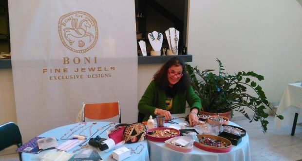 Η καταξιωμένη σχεδιάστρια κοσμημάτων, Ευγενία Μπόνη στο Αγρίνιο (Φωτογραφίες)
