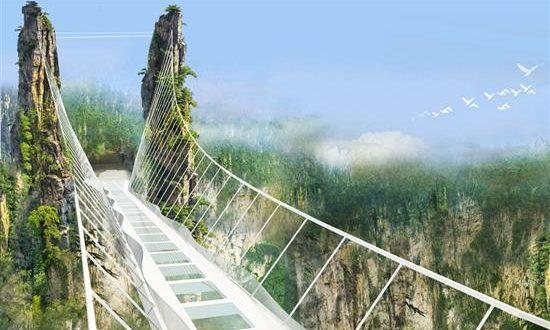 Ο αρχιτέκτονας της μεγαλύτερης γυάλινης γέφυρας του κόσμου «αποκαλύπτεται»