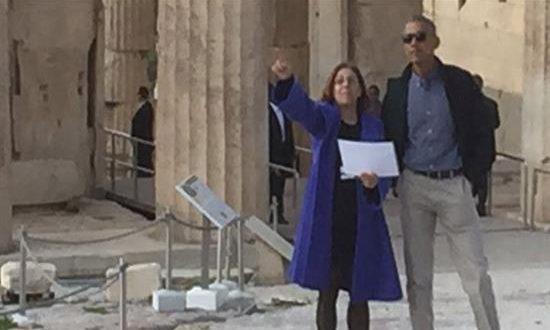 Ο Ομπάμα ήθελε σουβλάκι στο Μοναστηράκι!