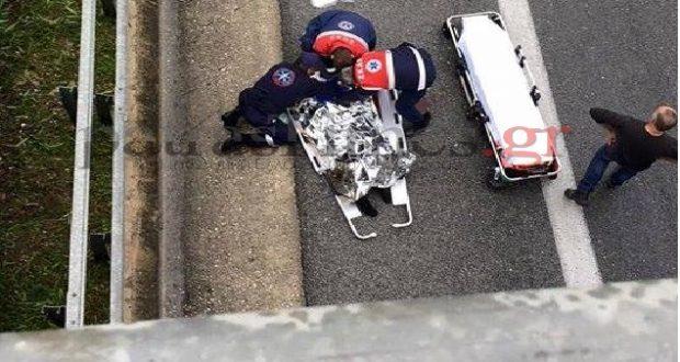 Πάτρα: Γιος του πρώην βουλευτή Θ. Νταβλούρου ο νεαρός που έπεσε στο κενό από γέφυρα (Φωτογραφίες)