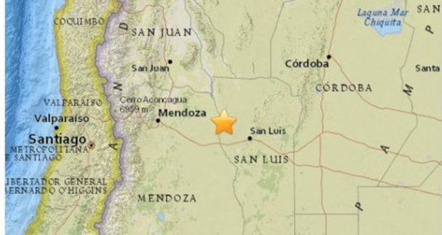 Μεγάλος σεισμός 6,7 Ρίχτερ στην Αργεντινή – Ανησυχία και στις δυο πλευρές των συνόρων