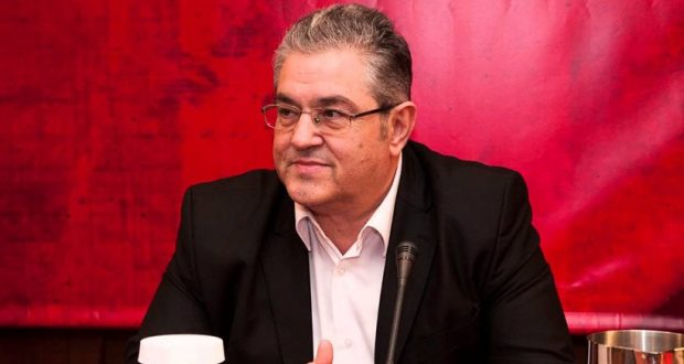 Συνέντευξη τύπου για την επίσκεψη του Δ.Κουτσούμπα στο Αγρίνιο