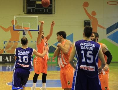 Α.Ο. Αγρινίου: Στιγμιότυπα του αγώνα της ομάδας μας με την Ασπίδα Ξάνθης
