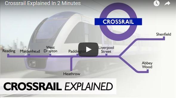 Crossrail London: Δείτε το μεγαλύτερο σιδηροδρομικό project της Ευρώπης
