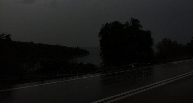 Χατ-Τρικ Νέο τροχαίο στο 6ο χλμ Αμφιλοχίας-Βόνιτσας