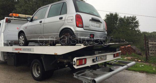 Δύο εκτροπές οχημάτων στο 6ο χλμ Αμφιλοχίας-Βόνιτσας