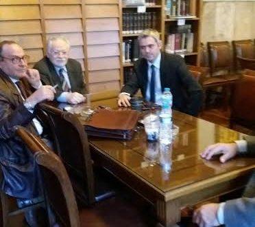Επίσκεψη του Βουλευτή Αιτωλ/νίας και Αναπληρωτή Τομεάρχη Δικαιοσύνης Κ. Καραγκούνη στο Δικαστικό Μέγαρο Αγρινίου
