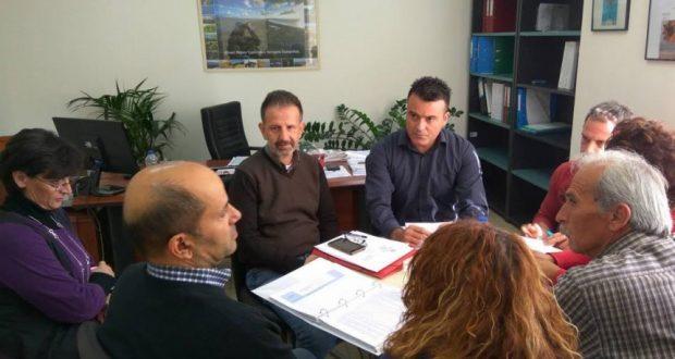 Συνάντηση εργασίας σχετικά με την χρήση Ανανεώσιμων Πηγών Ενέργειας σε έργα Διαχείρισης Υδατικών Πόρων