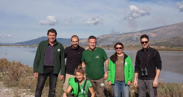 Απελευθέρωση παρυδάτιων πουλιών στο Εθνικό Πάρκο Λιμνοθαλασσών Μεσολογγίου – Αιτωλικού