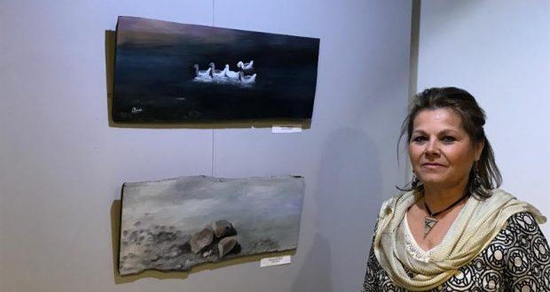 Η ζωγράφος Αλέκα Παππά, στο Αgriniotimes.gr