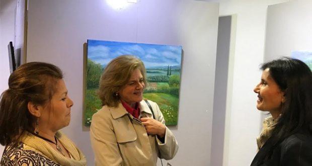 Αγρίνιο: Εγκαινιάστηκε η έκθεση ζωγραφικής «Γη και ύδωρ» (Φωτορεπορτάζ του AgrinioTimes.gr)