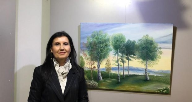 Η ζωγράφος Γ. Τσιλιμπώκου – Παπαχρήστου, στο Αgriniotimes.gr