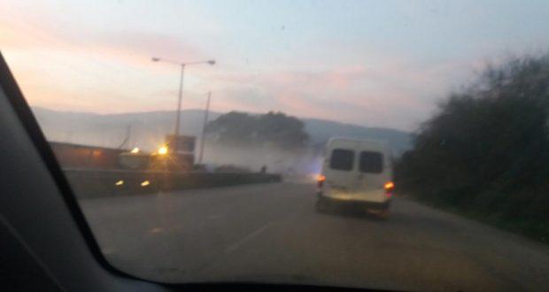 Αγρίνιο: Σύγρουση οχημάτων στην Ε.Ο. Αγρινίου – Μεσολογγίου (Φωτογραφία)
