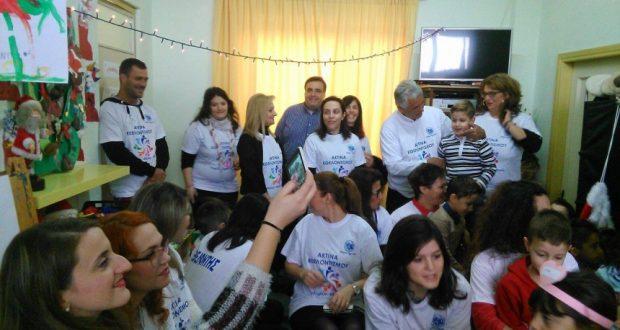 Άνθισαν παιδικά χαμόγελα στο Νηπιαγωγείο Δοκιμίου – Δράση του Δήμου για την Παγκόσμια Ημέρα Εθελοντισμού (Φωτογραφίες)