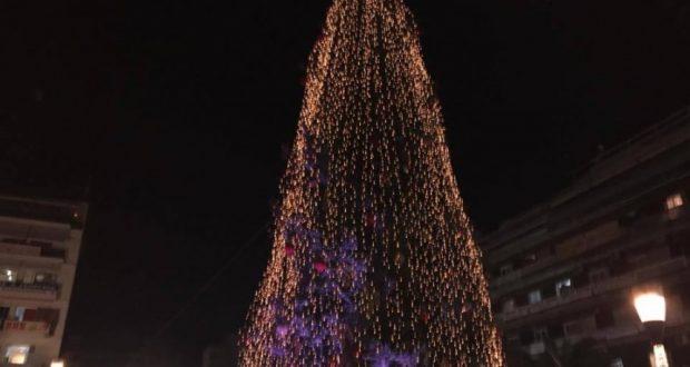 Αγρίνιο-Σήμερα,  ανάβει το Χριστουγεννιάτικο δένδρο στο γήπεδο του Παναιτωλικού