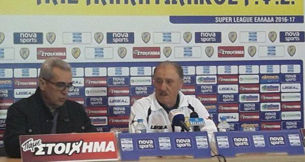 Παναιτωλικός 2-0 Ηρακλής – Οι δηλώσεις του Γ. Μαντζουράκη (AgrinioTimesTV)