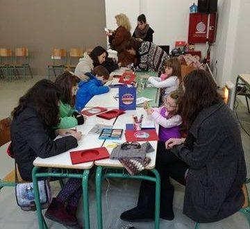 Αγρίνιο: Έφτιαξαν γιορτινές κάρτες για τα αγαπημένα τους πρόσωπα