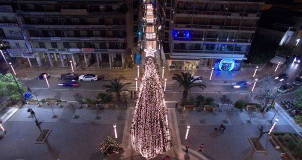 Ο Δήμαρχος Αγρινίου, Γιώργος Παπαναστασίου υποδέχεται το νέο έτος