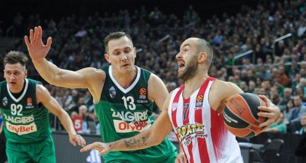 Euroleague Basketball: Κέρδισε τη Ζαλγκίρις – Έχασε τον Πρίντεζη