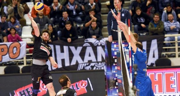 Volleyball League: Ξέσπασε στον Ηρακλή ο Π.Α.Ο.Κ.