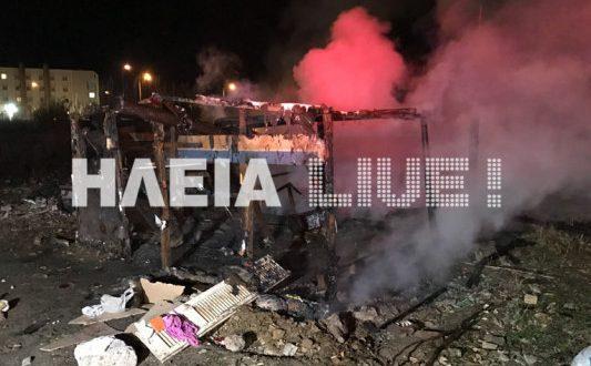 Πύργος: Ματωμένα Χριστούγεννα για πυροσβέστες – Άγρια επίθεση σε κατάσβεση φωτιάς (Φωτογραφίες – Βίντεο)