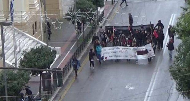 Πάτρα: Ολοκληρώθηκε η πορεία για την επέτειο της δολοφονίας Γρηγορόπουλου