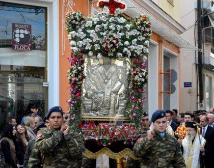 Το Μεσολόγγι γιόρτασε τον προστάτη του Άγιο Σπυρίδωνα!