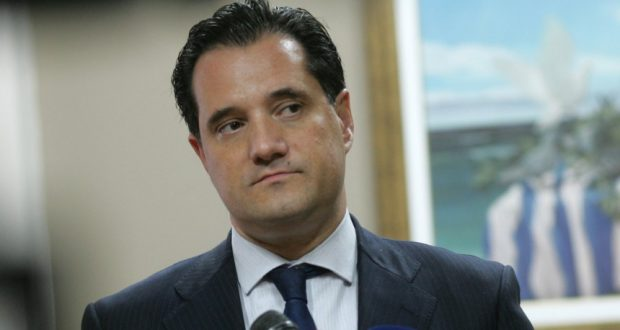 Αμφιλοχία: Ο Άδωνις Γεωργιάδης στα εγκαίνια των νέων γραφείων της Ν.Δ