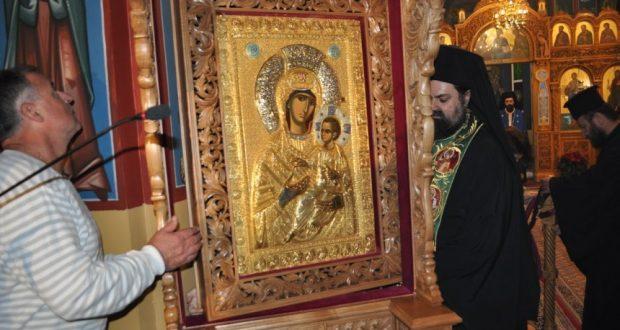 Αντίρριο: Ενθρόνιση της Εικόνας της Παναγίας της Βηματάρισσας