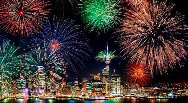 2017! Υποδοχή νέου έτους αυτή τη στιγμή στη Νέα Ζηλανδία (Βίντεο)