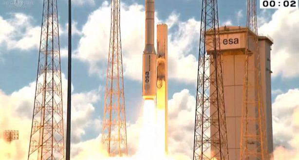 Τουρκικός δορυφόρος: Εντυπωσιακή εκτόξευση και… πανηγύρια Ερντογάν! (Βίντεο)