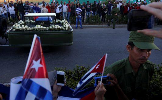 Το τελευταίο ταξίδι του Φιντέλ Κάστρο (Φωτογραφίες – Βίντεο)