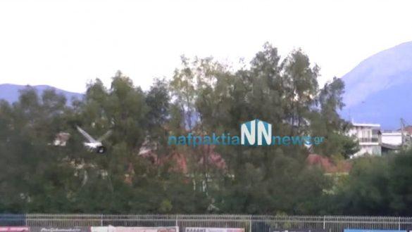 Απίστευτο… Γλάρος πήρε το καπέλο φιλάθλου και το έριξε στο γήπεδο στον αγώνα Α.Ε. Μεσολογγίου – Α.Ο. Χάλκειας (Βίντεο)