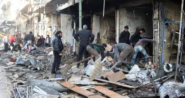 Συρία: Τουλάχιστον 46 νεκροί από αεροπορικούς βομβαρδισμούς στο Ιντλίμπ