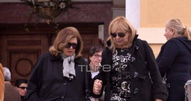 Θλίψη στην κηδεία του Πέτρου Φυσσούν – Λίγοι φίλοι στο τελευταίο αντίο