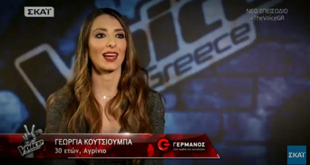 The Voice: Η Αγρινιώτισσα, Γεωργία Κουτσιούμπα δηλώνει φανατική… «Ρουβίτσα»! –  «Την είπε» με στυλ… στον Κωστή Μαραβέγια! (Φωτογραφίες – Βίντεο)