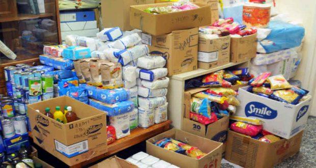 Μεσολόγγι: Διανομή τροφίμων από το Κοινωνικό Παντοπωλείο του Δήμου