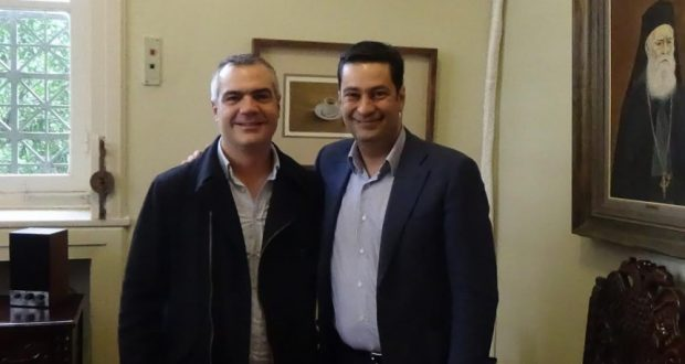 Με αφορμή την Παγκόσμια Ημέρα Ατόμων με Αναπηρία ο Δήμαρχος Αγρινίου, Γ.Παπαναστασίου συναντήθηκε με τον δρομέα, Μάκη Κορδάτο