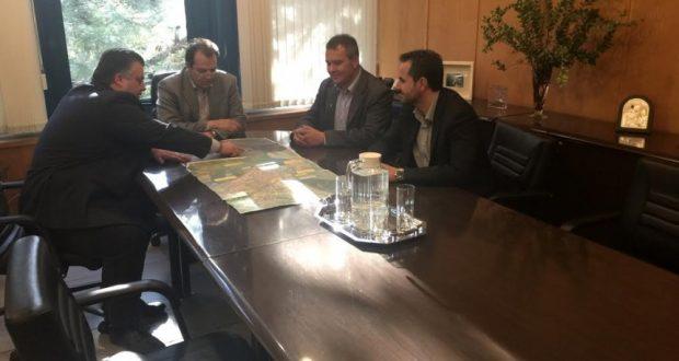 Συνάντηση του Δημάρχου  Μεσολογγίου με τον Γεν. Γρ.του Υπουργείου Υποδομών για την αντιπλημμυρική θωράκιση του Δήμου