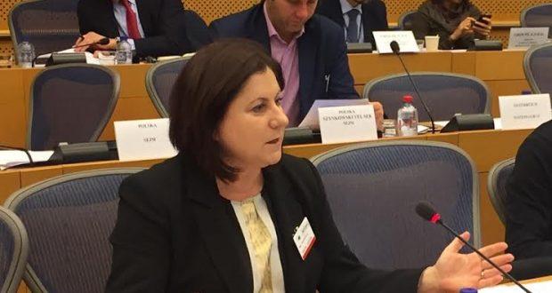 Η Μ. Τριανταφύλλου στην Επιτροπή Συνταγματικών Υποθέσεων του Ευρ. Κοινοβουλίου