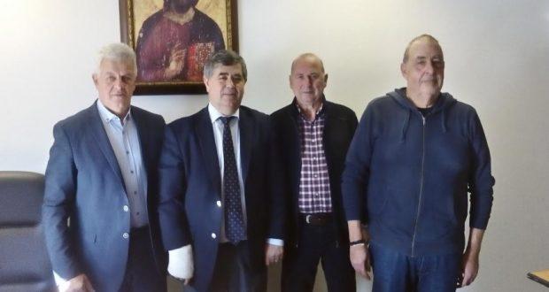 Συνάντηση του Αντιπεριφερειάρχη Δ. Δριβίλα με μέλη της Ένωσης Απόστρατων Ελληνικής Αστυνομίας και Πρώην Χωροφυλακής