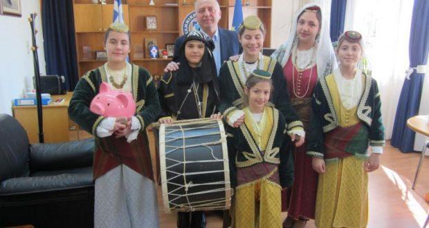 Χριστουγεννιάτικα κάλαντα στη Γενική Περιφερειακή Αστυνομική Διεύθυνση Δυτικής Ελλάδας